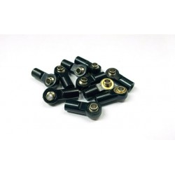 Aluminum M3 Rod End with Steel Ball Black (1)
