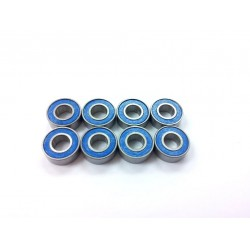 Rubber Sealed Ball Bearing Set for Tamiya 2 Axle Trailer