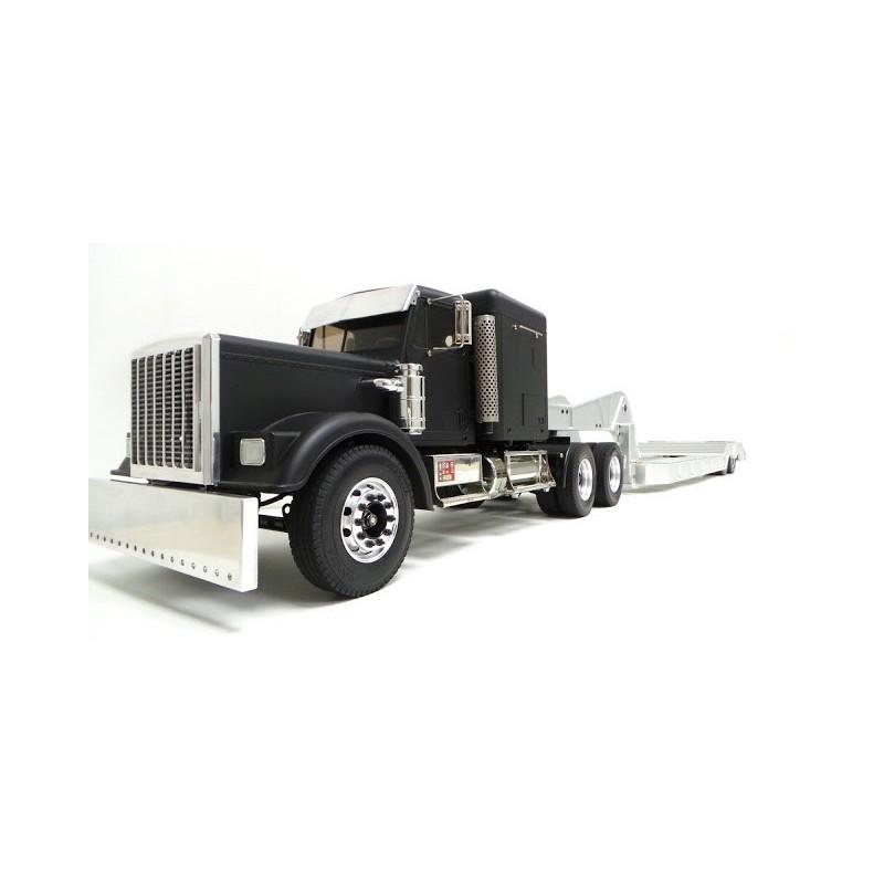Alum Cnc Lowboy Trailer For Tamiya 1 14 Scale Truck