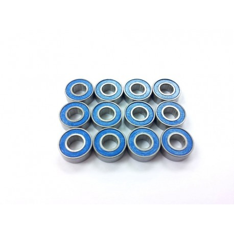 Rubber Sealed Ball Bearing Set for Tamiya 3 Axle Trailer