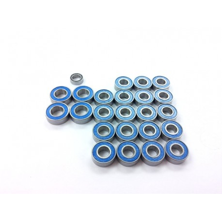 Rubber Sealed Ball Bearing Set for Tamiya 2 Axle Truck