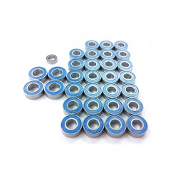 Rubber Sealed Ball Bearing Set for Tamiya R620 / MAN TGX