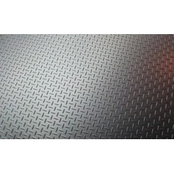 Fine detailed cross pattern plate set (A4 size) Black
