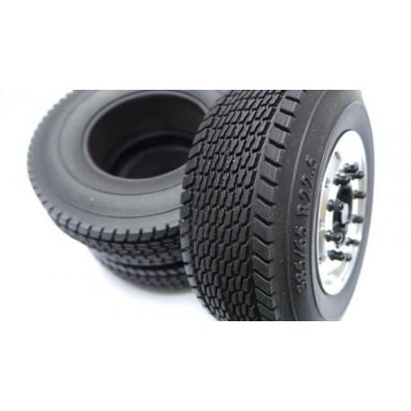 """1.7""""  1/14 Wide Tires 84mm w/Foam inserts(1)"""