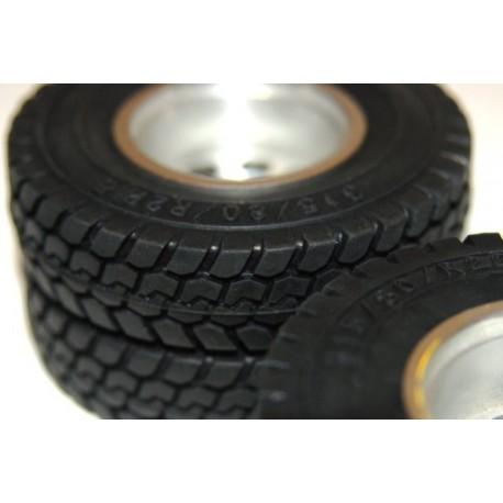 "1.7"" Commercial 1/14 Semi Truck Tires 86mm(1)"