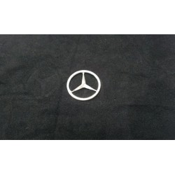 Alum. CNC Benz logo For Tamiya Benz 1838/1850L