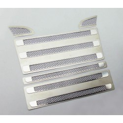Metal grill vent trim for Tamiya Scania B (Diamond)