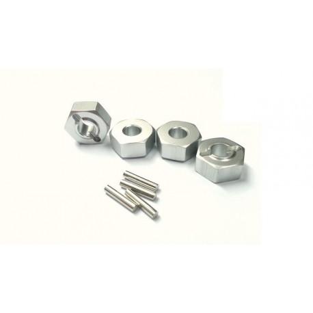 12mm Wheel Hub & Hex Pin set