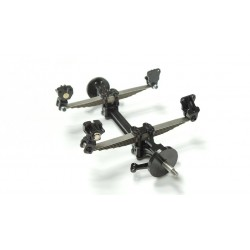 Reality Front Axle w/6 Piece Leaf Springs