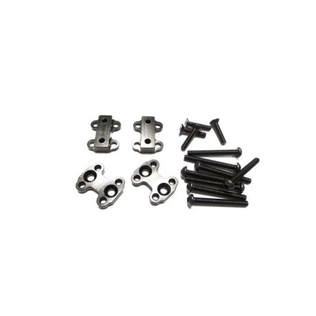 Spacer & Screw Set for Reality 6 Piece Front Leaf Springs