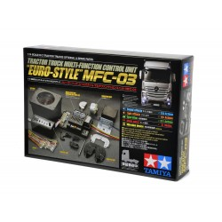 Tamiya Tractor Truck Multi Function Unit MFC-03 Euro-Style