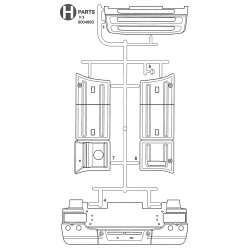 Tamiya Scania part H