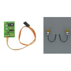Allround light PCB Kit with 1-channel switch (4,8 - 6 Volt)