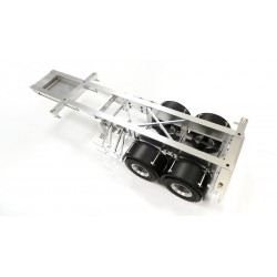 Alum. CNC 20-foot 2 Axle Semi Trailer for Tamiya 1/14 Truck