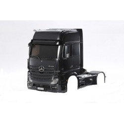 Tamiya Mercedes-Benz Actros 1851 GIGASPACE Black Edition (complete cab)