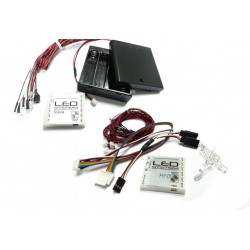 Wireless LED Lighting System for Tamiya MFC-01 / MFC-03