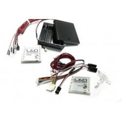 Wireless LED Lighting System for Tamiya MFC-01 / MFC-03