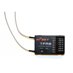 FrSky TFR6 Futaba FAAST compatible 6 channel Receiver