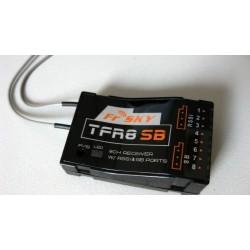 Frsky TFR8SB 8CH Futaba 2.4ghz FASST Compatible TF Receiver W/RSSI & SB PortsTFR