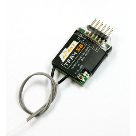 FrSky TFR4SB Futaba FAAST compatible 3/16 channel S BUS Receiver