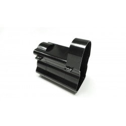 Alum. CNC Gearbox Housing for Tamiya 1/14 Truck Black