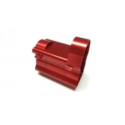 Alum. CNC Gearbox Housing for Tamiya 1/14 Truck Red