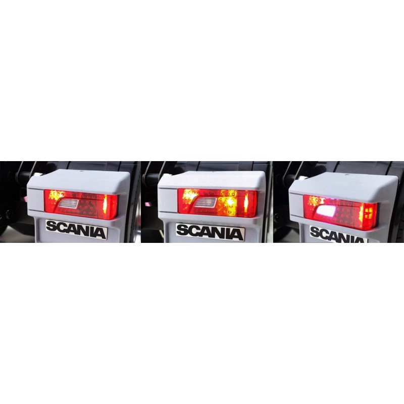 New Tail Light Housing Amp Lens For Tamiya 1 14 Scania R470