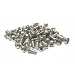 3x6mm  Stainless Steel Hex Socket Round Head Screws