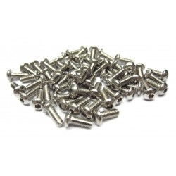 3x8mm  Stainless Steel Hex Socket Round Head Screws