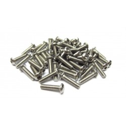 3x12mm  Stainless Steel Hex Socket Round Head Screws