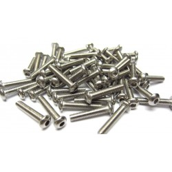 3x16mm  Stainless Steel Hex Socket Round Head Screws