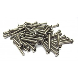 3x20mm  Stainless Steel Hex Socket Round Head Screws