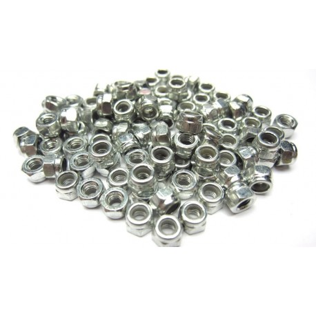 M3 Stainless Steel Nyloc Nuts