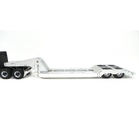 Alum. CNC Lowboy Trailer for Tamiya 1/14 Scale Truck