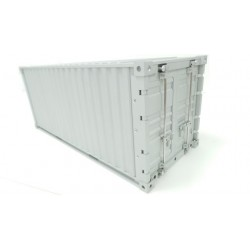 Alum. CNC 20 foot container for 1/14 Tamiya Trailer