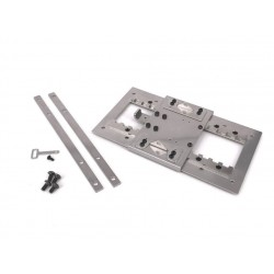 Stainless Steel Adjustable Fifth Wheel Plate for Tamiya 1/14 Truck