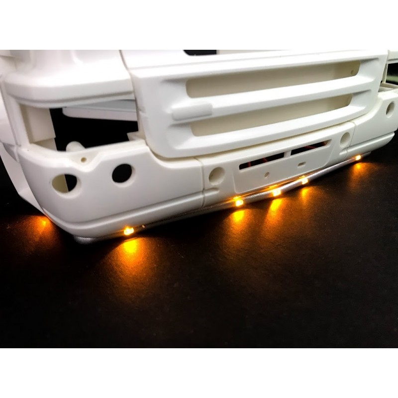 Reality Front Bumper Led Lightbar Diy Kit For Tamiya 1 14