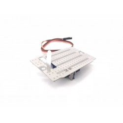 Stainless Steel plate w/SG90 Servo for Motorized Support Legs