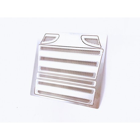 Metal grill vent trim for Tamiya Scania A (Hexagon)