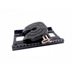 Alum. CNC Oscillating Fifth Wheel w/Adjustable Plate for Tamiya 1/14 Truck