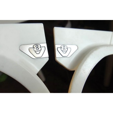 Aluminum Decal Ver.1 for Tamiya Scania (pair)