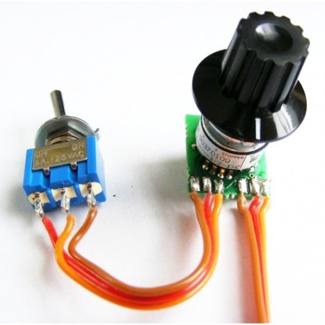 Rotary switch / Push button Encoder for Sound Module