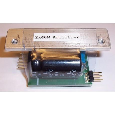 2 x 40W Power Amplifier for Sound Module