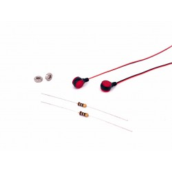 Red Boundary SMD Lights Set OD7.7mm (3V)