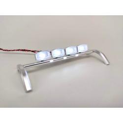 Metal Roof Light Bar Set for Tamiya 1/14 Volvo FH16 Globetrotter 750