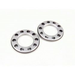 Stainless Steel Wheel Protech Cover Sandblasted (Pair)