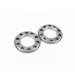 Stainless Steel Wheel Protech Cover Gloss (Pair)